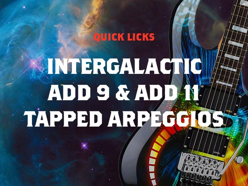 Add 9 Tapped Arpeggios Strings of Rage