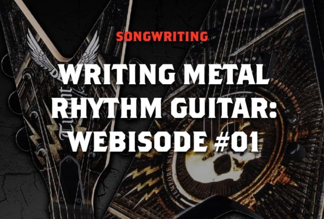 Write a metal song on guitar example of a proposal